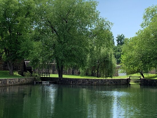 The Grist Mill and Lake