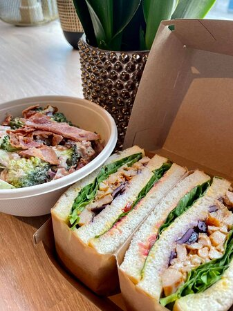 BBQ Kylling sandwich boks