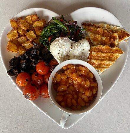 Large Vegetarian breakfast
