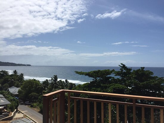 Breathtaking view from superior 2 bedroom chalet.