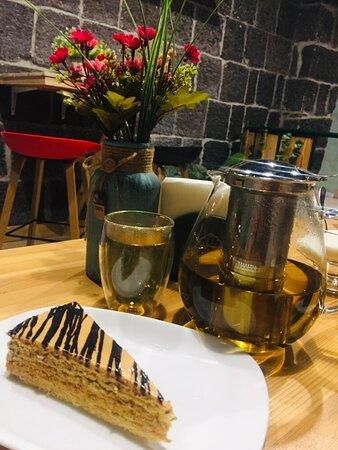 Ирис и  чай из армянских трав