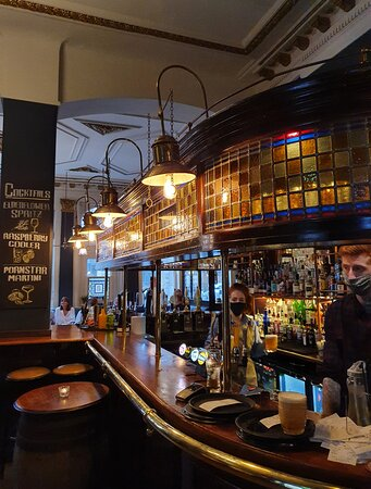 The Railway Pub in Liverpool Buisness District