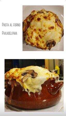 """Pasta al forno """"Philadelphia"""""""