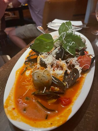 Fettuccine Alfredo - Picture of Carpaccio Tuscan Kitchen, Annapolis - Tripadvisor