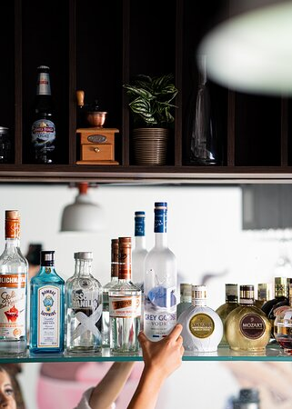We are licensed with a wide range of options wine, beer and cocktails