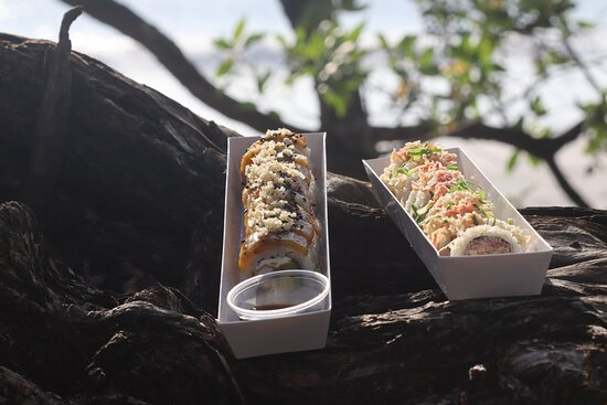 Restaurante de Sushi 🍥 Playa Flamingo ⛱ Express & Pick-up 6205-3348 🛵