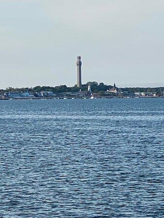 The Pilgrim Monument from the breakwater