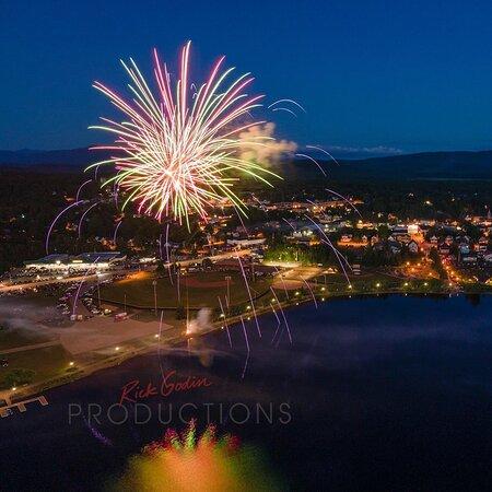 Tupper Lake Fireworks