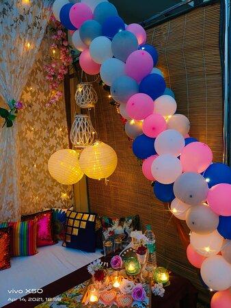 Fairytale Fountain Candlelight Dinner  : Various Styles