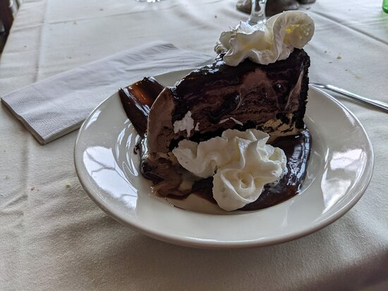 Dessert was spectacular!  Orea/Fudge/Mud pie goodness.
