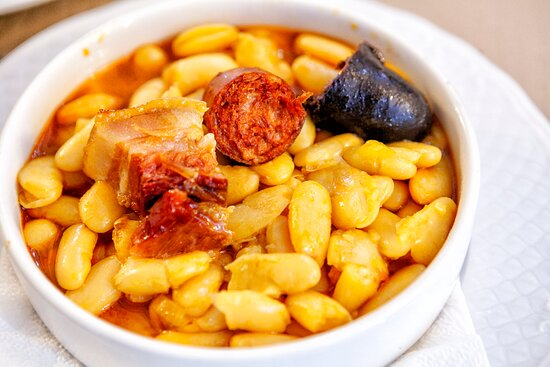 Sevares, España: Fabada asturiana