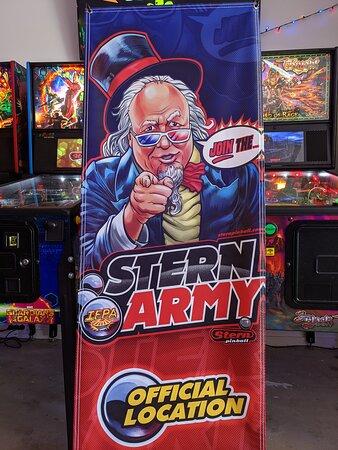 Stern Army location