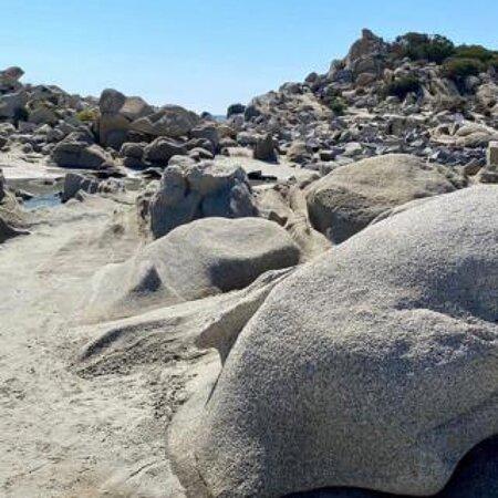 Sardegna Villasimius spiaggia di Punta Molentis