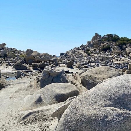 Villasimius, Italy: Sardegna spiaggia di Punta Molentis
