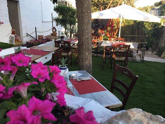 colazioni, pranzi e cene in giardino