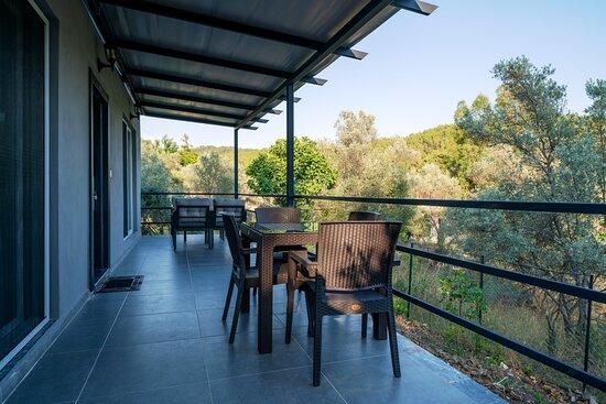 Veranda – Bild von Santana Villas, Göcek - Tripadvisor