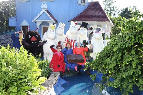 Moominfamily and friends