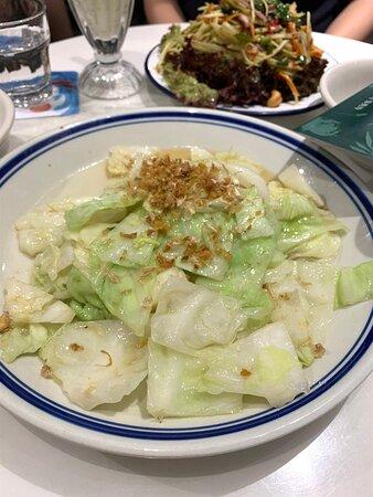 清蒜蓉炒椰菜