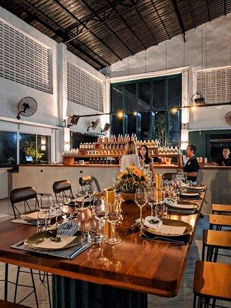 Distiller's table