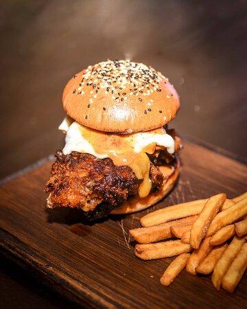 Nashville chicken burger