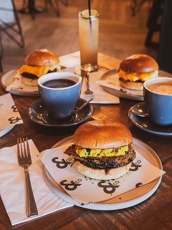 Did someone say Breakfast at & Company Mann Island? We've got delicious range of Breakfast Brioche  available now at & Company Mann Island. At & Company Mann Island, we're serving delicious home-cooked breakfasts from 9am. Did someone say Bottomless Brunch? We've got that too!