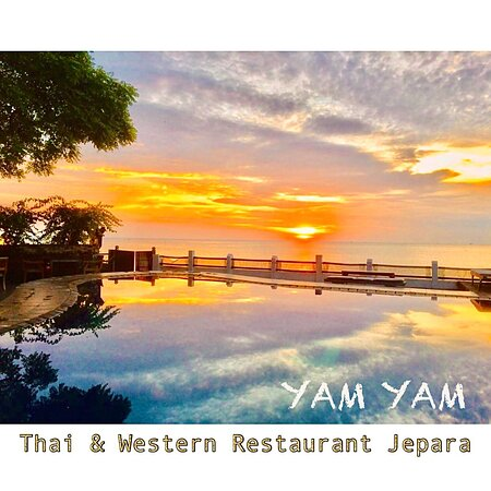 YAM YAM Restaurant Jepara is Open Everyday!!!!!! Nonstop. Stay safe & healthy.  See you... Kiss (from faraway) All staff YAM YAM 😘 #YamYam #RestaurantJepara  #ThaiRestaurantJepara #RestaurantJepara #Jepara #KarimunJawa #EuropeanRestaurantJepara #FreshSeaFood #WesternFood #JeparaExpat #Foodblogger #jeparahits #jeparaculinary #explorejepara #covid_19 #jeparafooddelivery #jeparakekinian #jeparaid #jeparahariini  #jeparamempesona  #jeparasquad