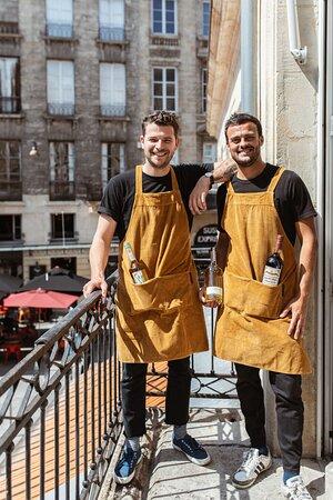 François & Emilio, les responsables de salle