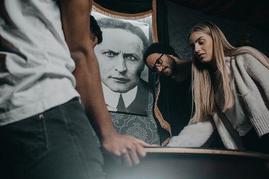Houdini rommet på Forus