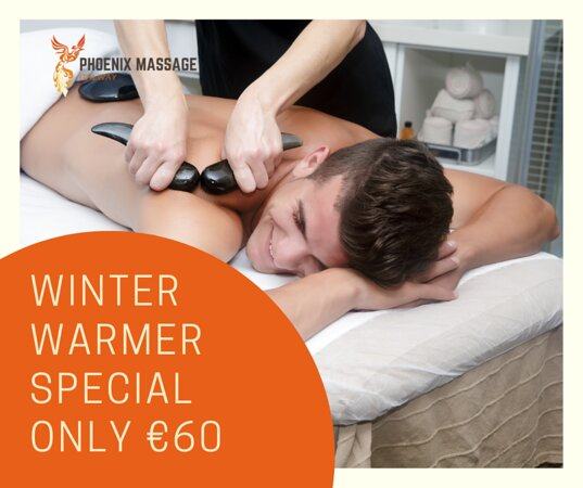 Indulge yourself in our Hot Stones Taster 1 hour massage for just €60. Starting off with a deep tissue back, neck and shoulder massage and finishing with a hot stones taster to help you to completely relax, unwind and escape.