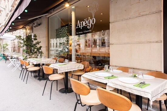 APEGO - Brunch healthy à Paris.  Nous privilégions le Bio, le local, les circuits courts.  Hâte de vous recevoir !