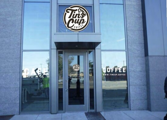 Tin Cup Coffee at 1201 Demonbreun St in Nashville, TN.