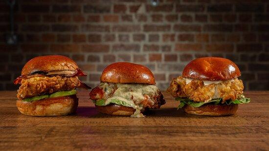 The Chicken Burgers