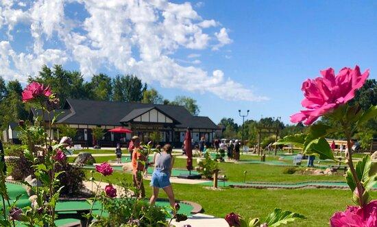Enjoy mini golfing on our three scenic courses!