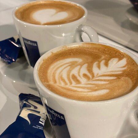 Goede koffie van Lavazza!