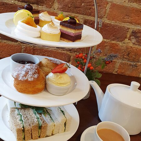 The London Carriage Works afternoon tea
