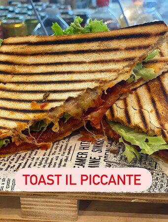 Toast piccante