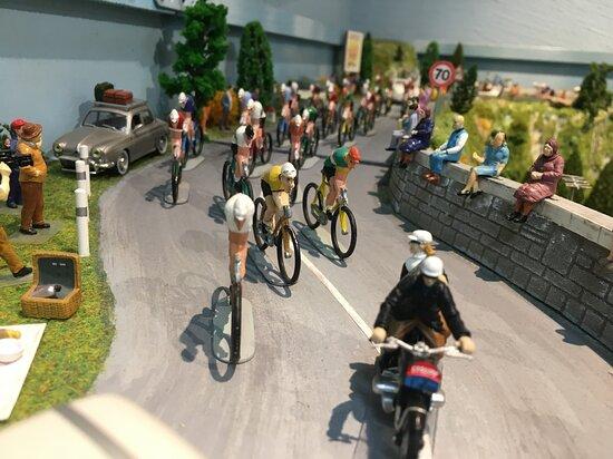 Diorama du Tour de France des années 1960