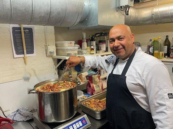 Chef-kok Danny
