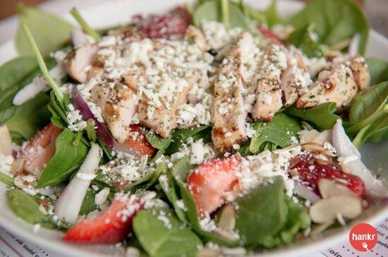 Spinach Salad with Chicken