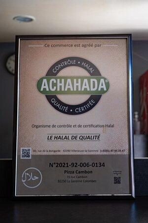 certification achahada