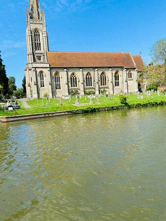 All Saints Church in Marlow