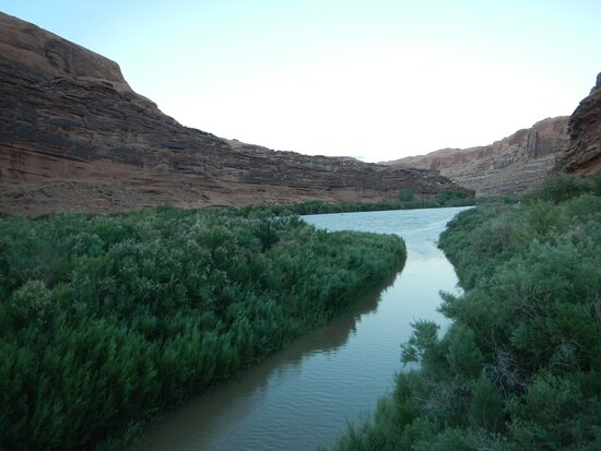 Lion's Park and Colorado River, Moab, Utah