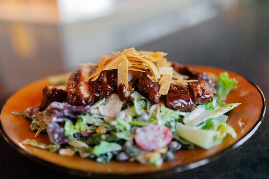 Crispy BBQ Chicken Salad