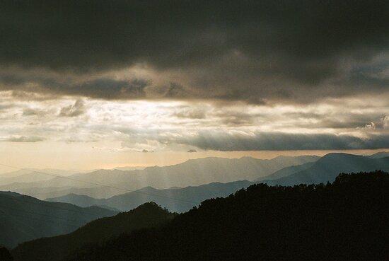 sunset in la sierra