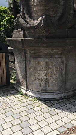 WITTELSBACHER BRUNNEN Fontain fontána Bayreuth