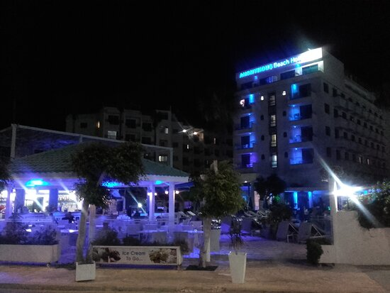The night vision of the hotel