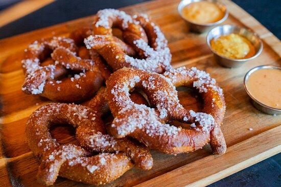 Deep Fried Pretzels