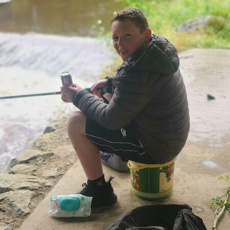 Lovly day in killarney lakes and in the river mane