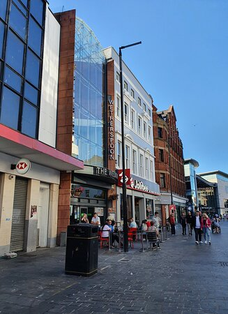 The Welkin Pub in Liverpool Commercial District