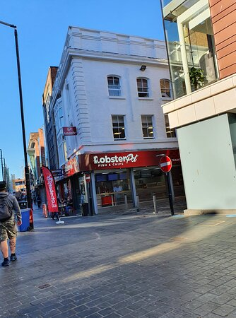 The Lobster Pot in Liverpool Buisness District